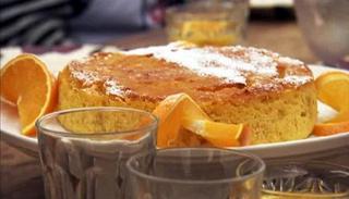 Orange (and Chocolate) Cake