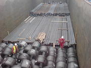 Loading CELSA Deep Sea coil & rebar export, 2009