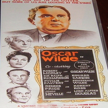 oscar wilde 1960 dvd robert morley