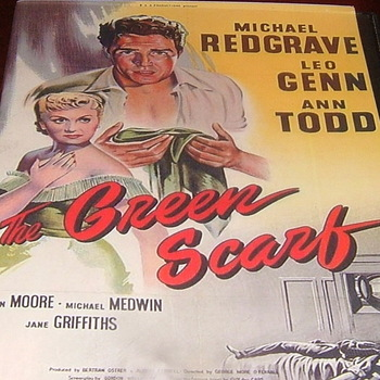 the green scarf 1954 dvd michael redgrave keiron moore