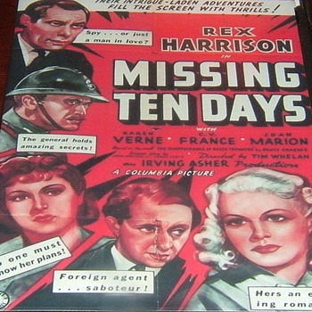 ten days in paris 1940 dvd rex harrison