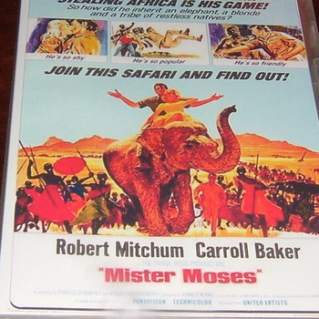 mister moses 1965 dvd robert mitchum