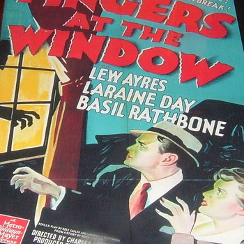 fingers at the window 1942 dvd lew ayres basil rathbone