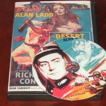 desert leigon 1954 dvd alan ladd