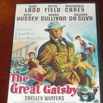 the great gatsby 1949 dvd alan ladd