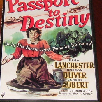 passport to destiny 1944 dvd  elsa lanchester