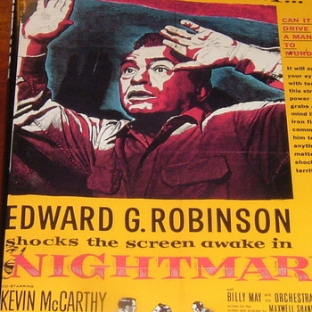 nightmare 1956 dvd edward g robinson