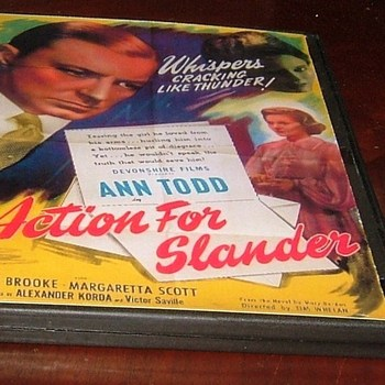 action for slander 1937 dvd