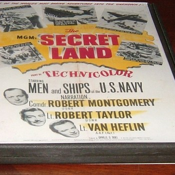 the secret land 1948 dvd robert montgomery robert taylor