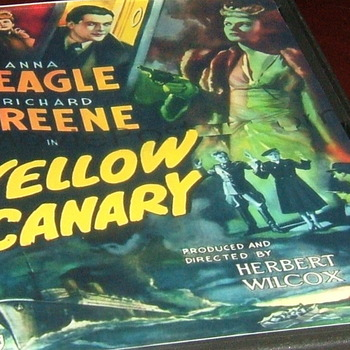 the yellow canary 1943 dvd anna neagle