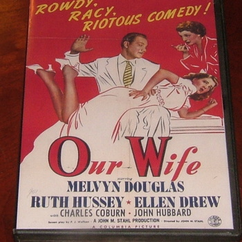 our wife 1941 dvd ruth hussey