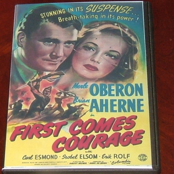 first comes courage 1943 dvd merle oberon