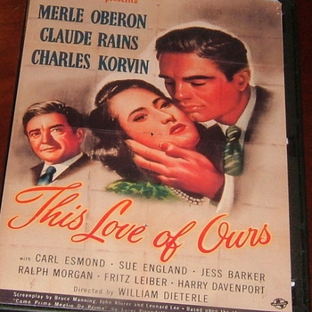 this love of ours 1945 dvd merle oberon