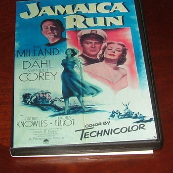 jamaica run 1953 dvd ray milland