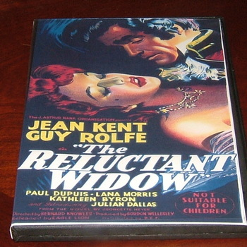 the reluctant widow 1950 dvd jean kent