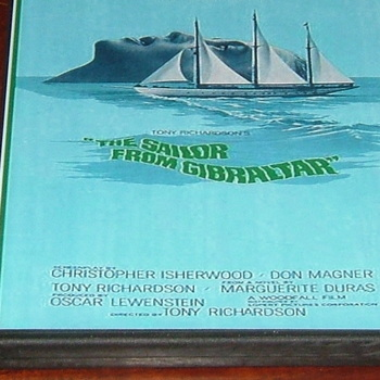 sailor from gibraltar 1967 dvd