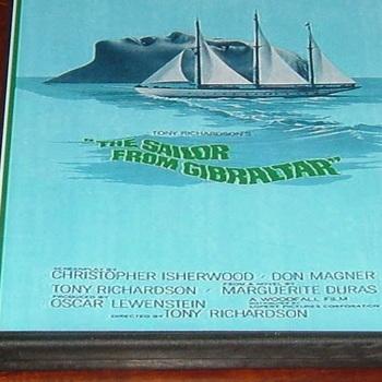 sailor from gibraltar 1967 dvd