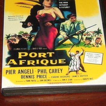 port afrique 1956 dvd pier angeli dennis price