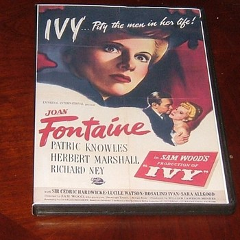 ivy 1947 dvd joan fontaine