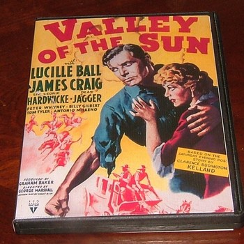 valley of the sun 1942 dvd lucille ball