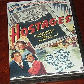 hostages 1943 dvd william bendix