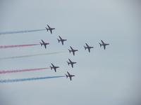 Red Arrows, Lyme Regis RNLI Week