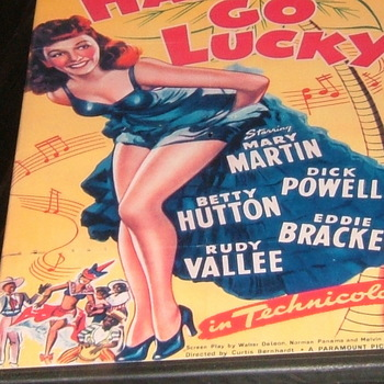 happy go lucky 1943 dvd mary martin dick powell betty hutton