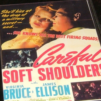 careful, soft shoulder 1941 dvd virginia bruce