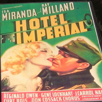 hotel imperial 1939 dvd ray milland