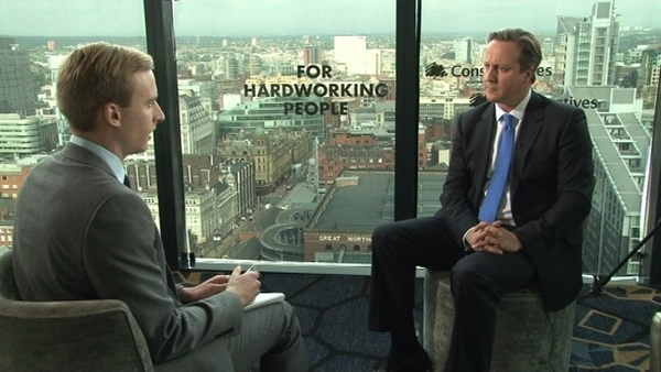 Twelve minutes with the PM