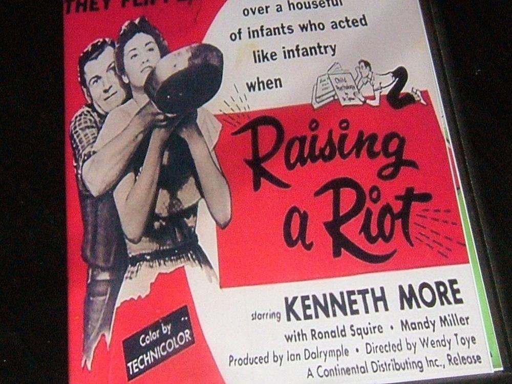 Raising a Riot raising a riot 1955 dvd kenneth more Narkover