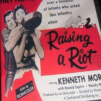 raising a riot  1955 dvd kenneth more