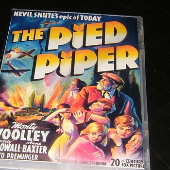 the pied piper 1942 dvd money woolley