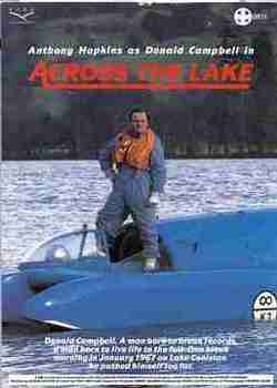 ACROSS THE LAKE 1988 Anthony Hopkins As Donald Campbell