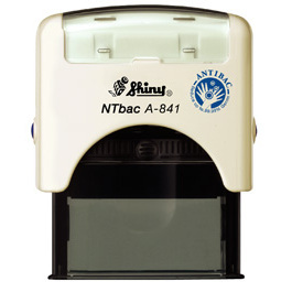 Anti-Bac Self-inking Stamp Printer A-841 24mm x 8mm