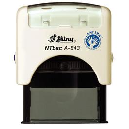 Anti-Bac Self-inking Stamp Printer A-843 45mm x 16mm