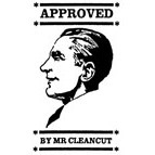 Approved by Mr Cleancut Rubber Stamp (Available in 3 sizes) from £6.89
