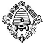 Bee Hive Rubber Stamp (Available in 3 sizes) from £6.89