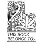 Belongs to. . . Heron Rubber Stamp (Available in 3 sizes) from £6.89