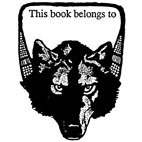 Belongs to. . Wolf Rubber Stamp (Available in 3 sizes) from £6.89