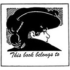 Belongs to. . Woman in Hat Rubber Stamp (Available in 3 sizes) from £6.89