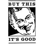 Buy This It's Good Rubber Stamp (Available in 3 sizes) from £6.89
