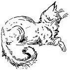 Cat Rubber Stamp (Available in 3 sizes) from £6.89