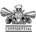 Confidential Rubber Stamp (Available in 3 sizes) from £6.89