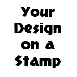 Custom Made Loyalty Card Self-Inking Rubber Stamp