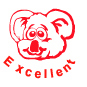 Excellent Bear Motivational Stamp - HS013