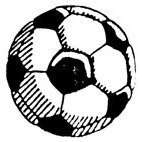 Football Rubber Stamp (Available in 3 sizes) from £6.89