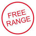 FREE RANGE Pre-inked Easy Egg Stamp