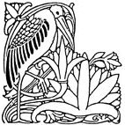 Heron Rubber Stamp (Available in 3 sizes) from £6.89