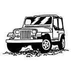 Jeep Rubber Stamp